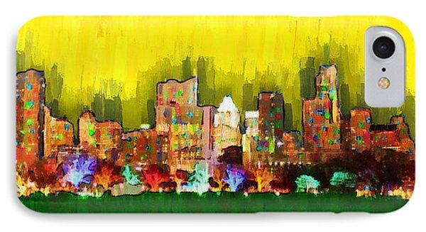 Austin Skyline 158 - Pa IPhone Case