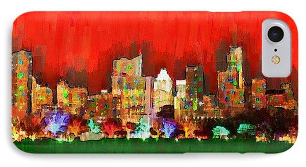 Austin Skyline 160 - Da IPhone Case