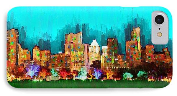 Austin Skyline 164 - Pa IPhone Case