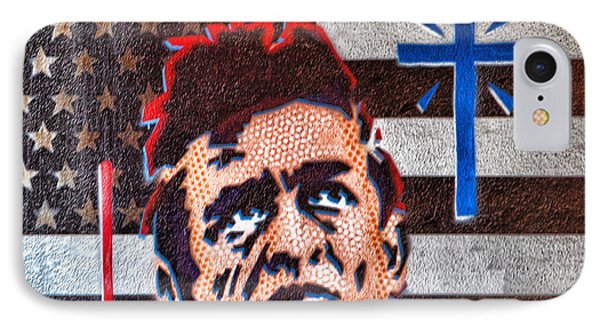 Austin Texas Johnny Cash Mural IPhone Case