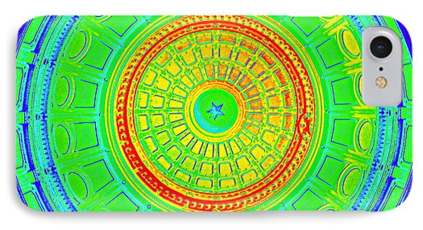 Austin Dome - B IPhone Case by Karen J Shine