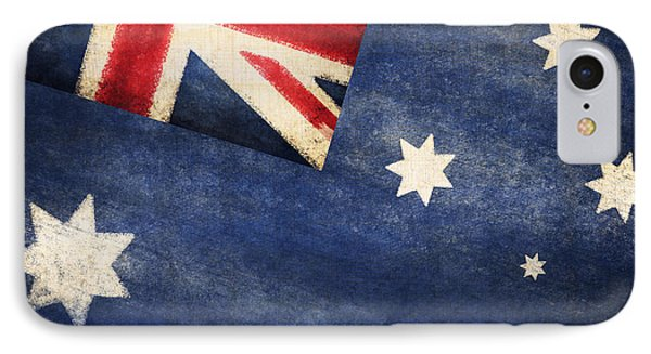 Australia  Flag IPhone Case by Setsiri Silapasuwanchai