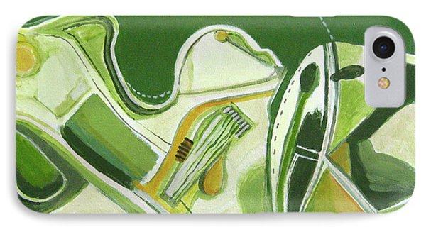 Australia Industrial Phone Case by Toni Silber-Delerive