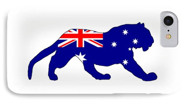 Australian Flag - Tiger IPhone Case