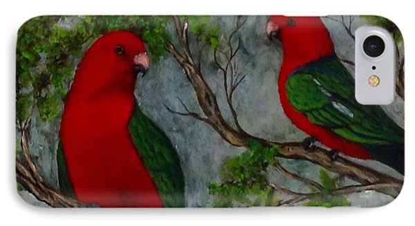 Australian King Parrot IPhone Case