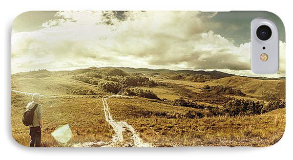 Australian Rural Panoramic Landscape IPhone Case