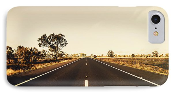 Australian Rural Road IPhone Case by Jorgo Photography - Wall Art Gallery