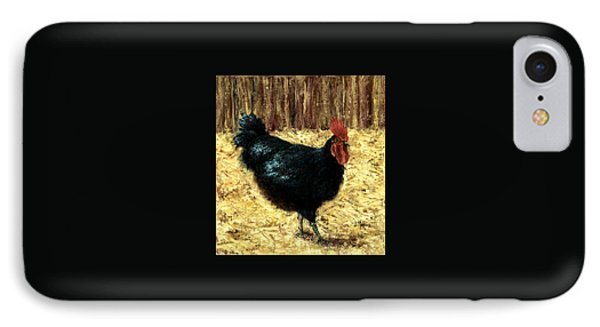 Australorp Rooster IPhone Case