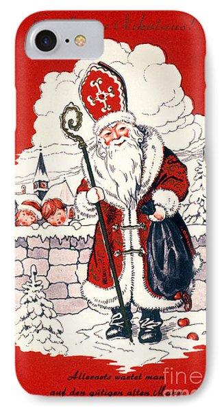 Austrian Christmas Card Phone Case by Granger