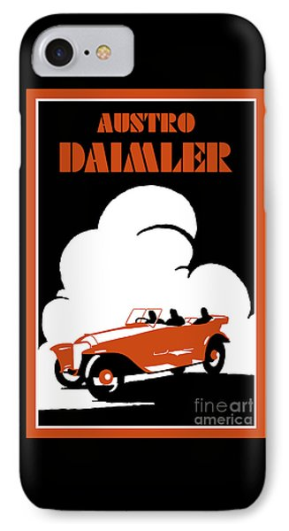 Austro-daimler Classic Car IPhone Case