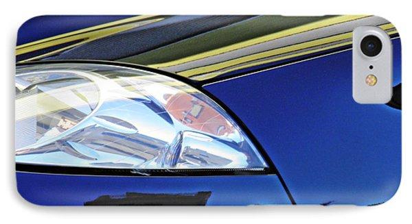 Auto Headlight 190 IPhone Case by Sarah Loft