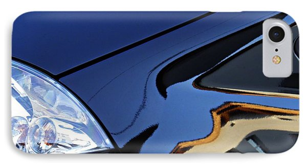 Auto Headlight 192 IPhone Case by Sarah Loft