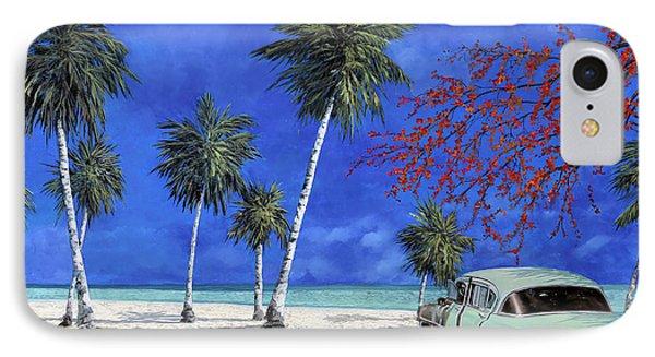 Auto Sulla Spiaggia IPhone Case