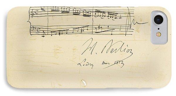 Autograph Album-leaf For Douard Silas IPhone Case by Celestial Images