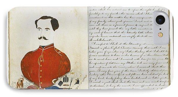 Autograph Manuscript Memoir IPhone Case by MotionAge Designs