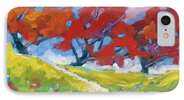 Automn Trees Phone Case by Richard T Pranke
