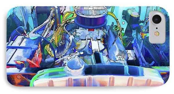 Automotive Engine IPhone Case by Lanjee Chee