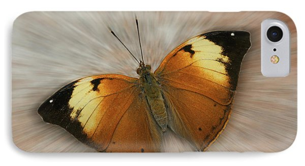 Autumn Leaf Butterfly Zoom IPhone Case