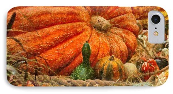 Autumn - Pumpkin - Great Gourds Phone Case by Mike Savad