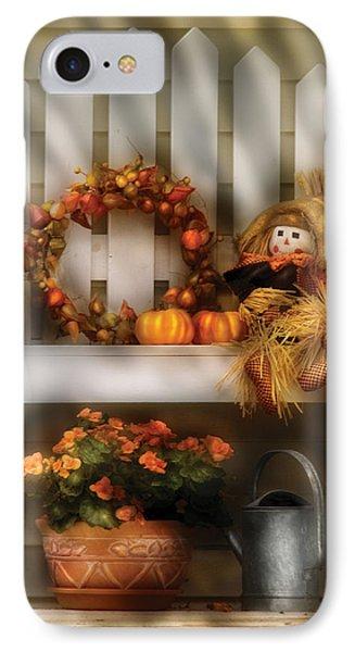 Autumn - Still Life - Symbols Of Autumn  Phone Case by Mike Savad