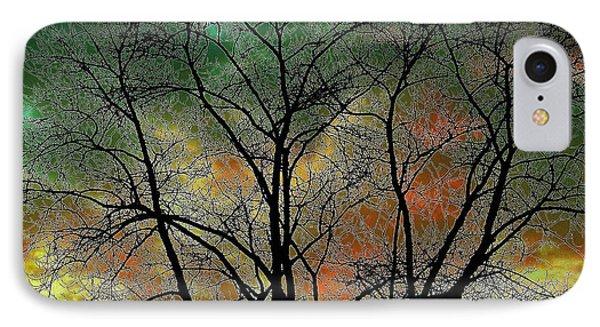 Autumn 4 IPhone Case by Todd Sherlock