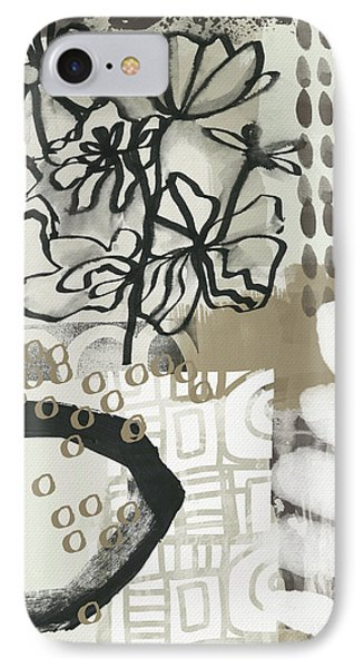 Autumn Abstract 2- Art By Linda Woods IPhone Case by Linda Woods