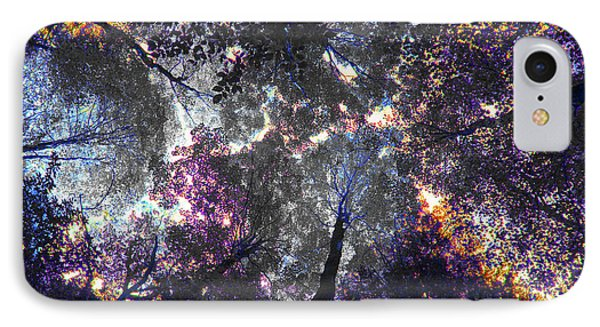 Autumn Abstract IPhone Case by David Stasiak