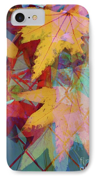 Autumn Abstract Phone Case by Robert Ball