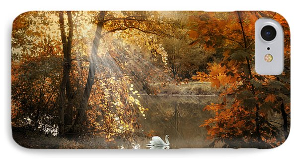 IPhone Case featuring the photograph Autumn Afterglow by Jessica Jenney