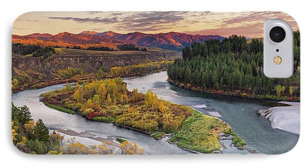 Autumn Along The Snake River IPhone 7 Case