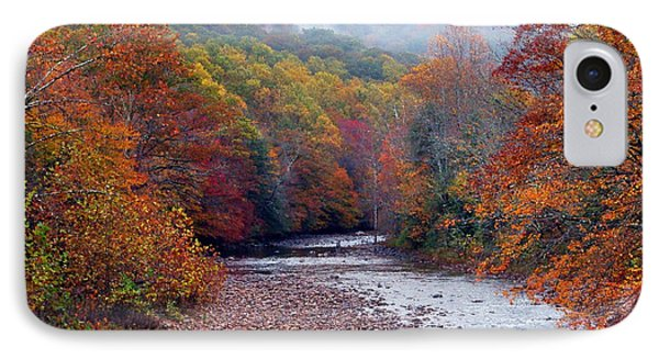 Autumn Along Williams River IPhone Case by Thomas R Fletcher