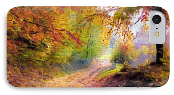 Autumn And The Morning Mist IPhone Case by Georgiana Romanovna