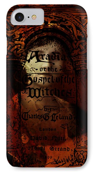 Autumn Aradia Witches Gospel IPhone Case by Rebecca Sherman