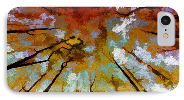 Autumn Ascent IPhone Case