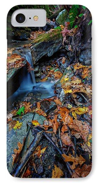 Autumn At A Mountain Stream Phone Case by Rick Berk