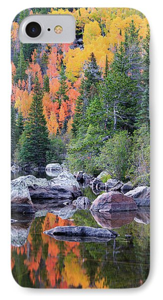 Autumn At Bear Lake IPhone 7 Case by David Chandler