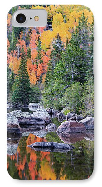 IPhone 7 Case featuring the photograph Autumn At Bear Lake by David Chandler