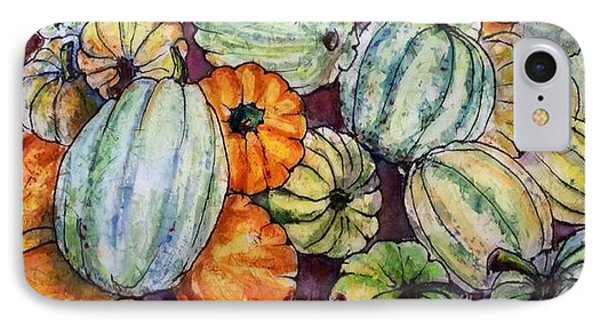 Autumn At Beth's Farmstand IPhone Case by Gloria Avner