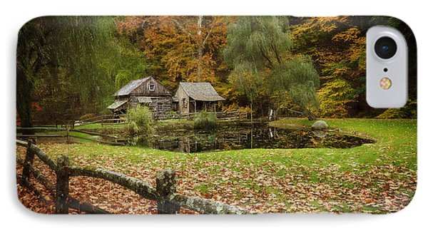 Autumn At Cuttalossa Farm V IPhone Case by Debra Fedchin