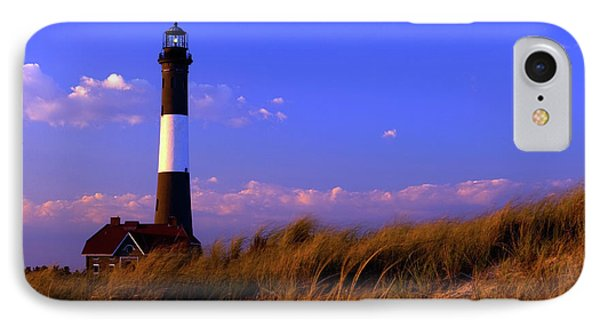 Autumn At Fire Island Lighthouse IPhone Case