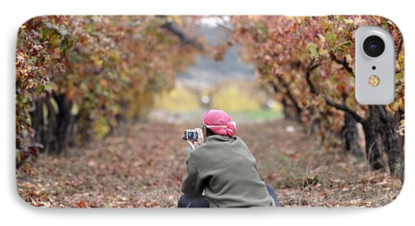 IPhone Case featuring the photograph Autumn At Lachish Vineyards 1 by Dubi Roman
