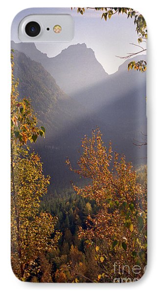 Autumn At Logan Pass IPhone Case