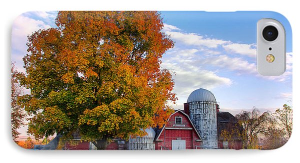 IPhone Case featuring the photograph Autumn At Lusscroft Farm by Mark Miller