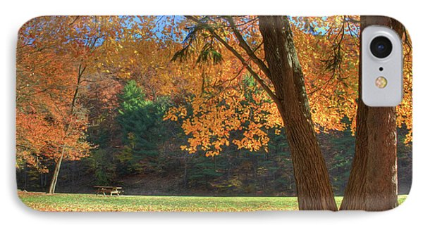 IPhone Case featuring the photograph Autumn At Lykens Glen by Lori Deiter