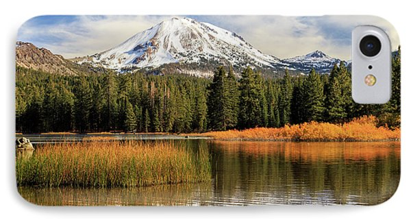 Autumn At Mount Lassen IPhone Case