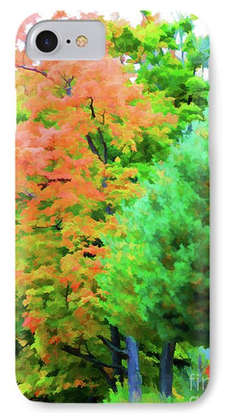 Autumn At Olana 3 IPhone Case by Lanjee Chee