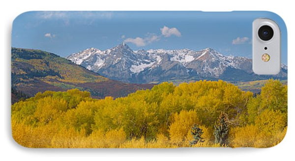 Autumn At Sneffels Mountain Range, San IPhone Case by Panoramic Images