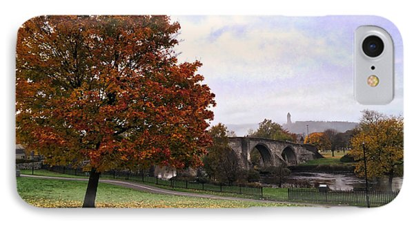 IPhone Case featuring the photograph Autumn At Stirling Bridge by RKAB Works