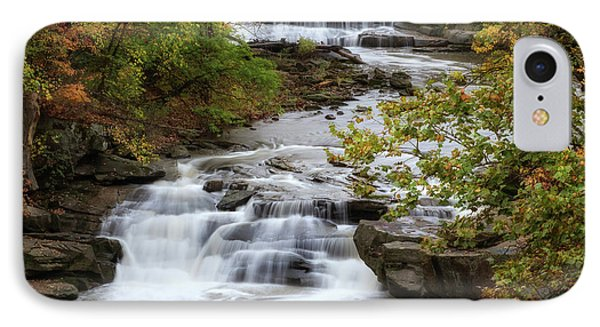 IPhone Case featuring the photograph Autumn At The Falls by Dale Kincaid