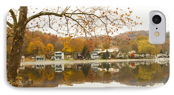 Autumn At The Housatonic IPhone Case